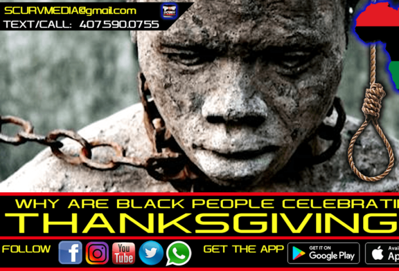 WHY ARE BLACK PEOPLE CELEBRATING THANKSGIVING?