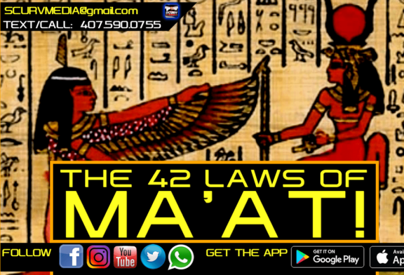 THE 42 LAWS OF MA'AT!