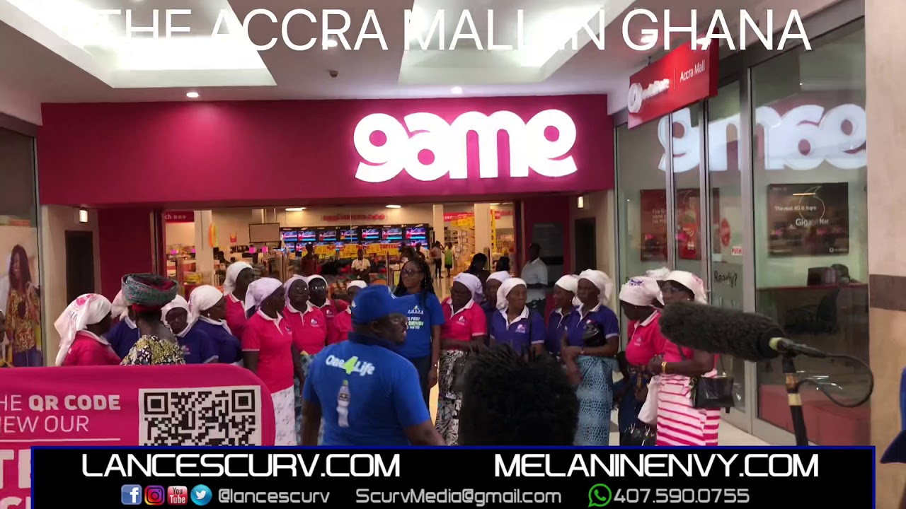 THE ACCRA MALL IN GHANA!