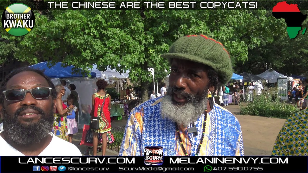 THE CHINESE ARE THE BEST COPYCATS! - BROTHER KWAKU/The LanceScurv Show