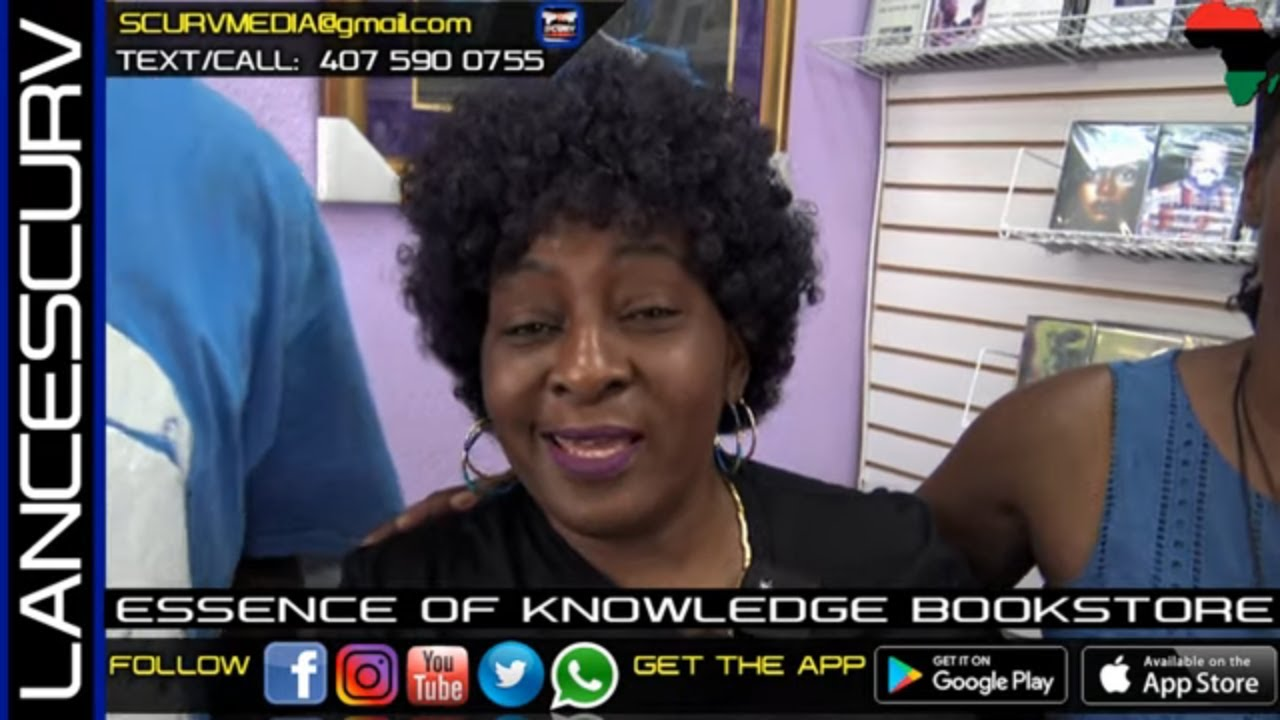 THE ESSENCE OF KNOWLEDGE BOOKSTORE IN COCOA FLORIDA! - The LanceScurv Show