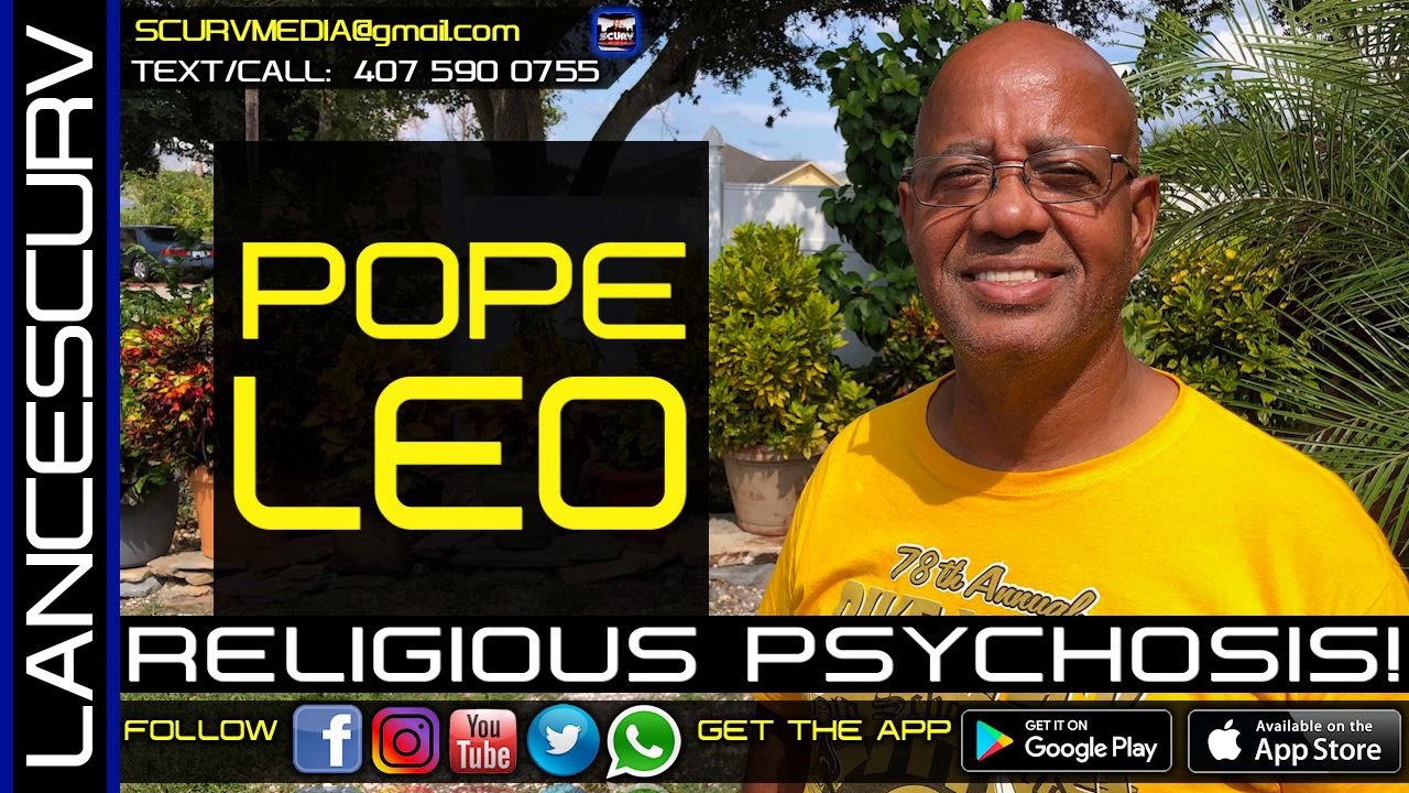 THE RELIGIOUS PSYCHOSIS OF BLACK PEOPLE WILL FOREVER BE THEIR DOWNFALL! - The LanceScurv Show