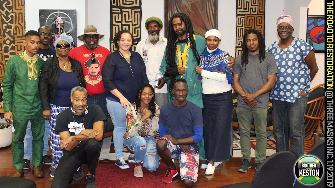 THE ROAD TO RESTORATION BLACK EMPOWERMENT FORUM AT THREE MASKS INC. - JANUARY 19, 2019