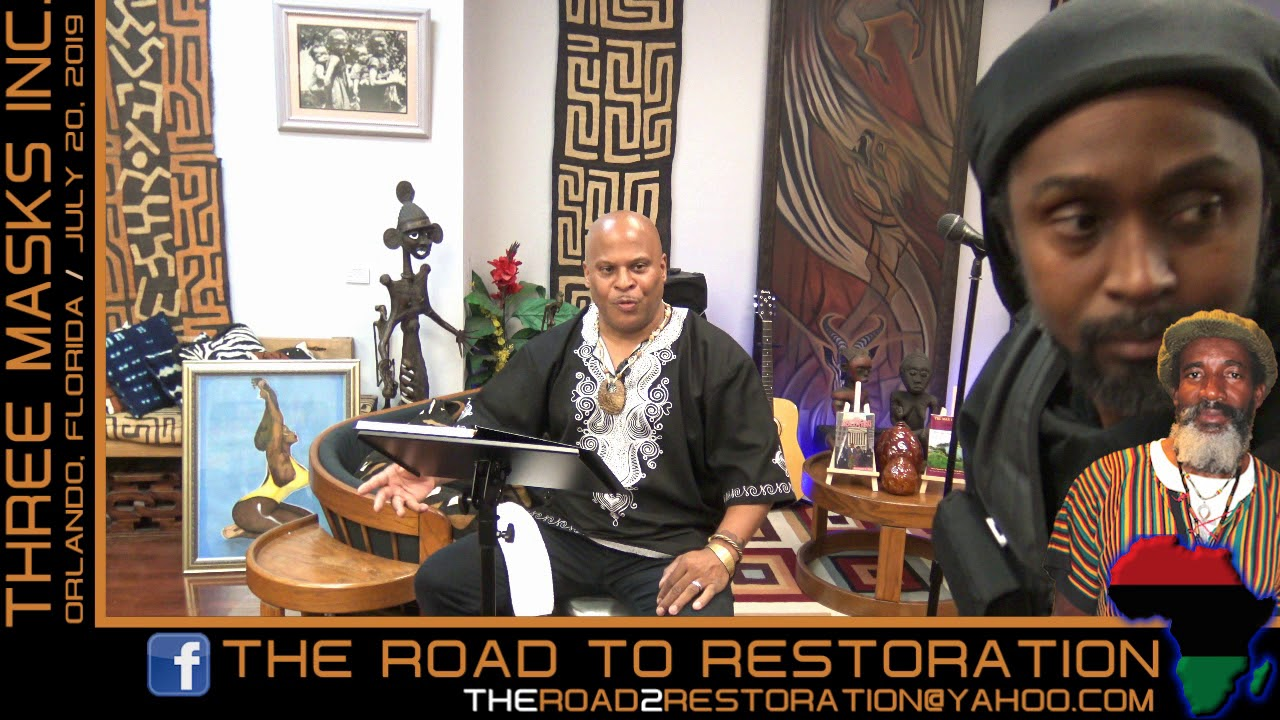 THE ROAD TO RESTORATION FOR AFRICAN PEOPLE | LIVE EVENT | JUNE 2019 - The LanceScurv Show