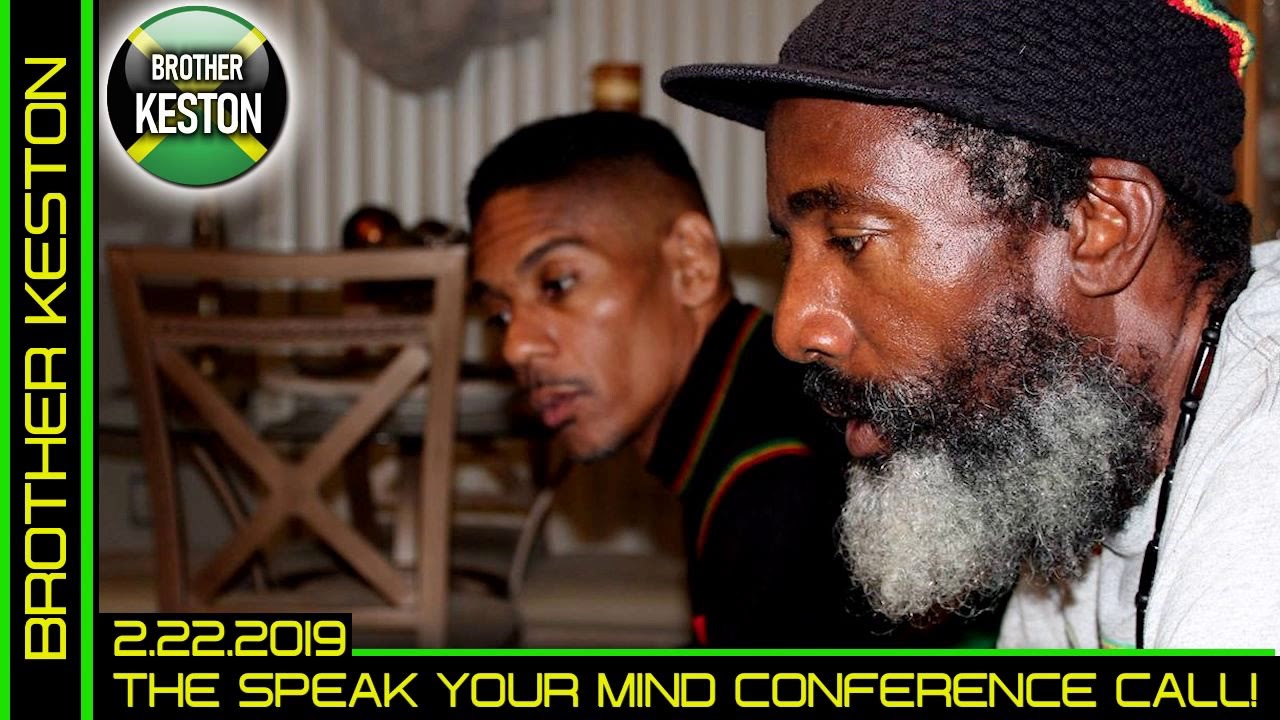 THE SPEAK YOUR MIND WEEKLY GROUP CONFERENCE CALL! - BROTHER KESTON/LanceScurv Show