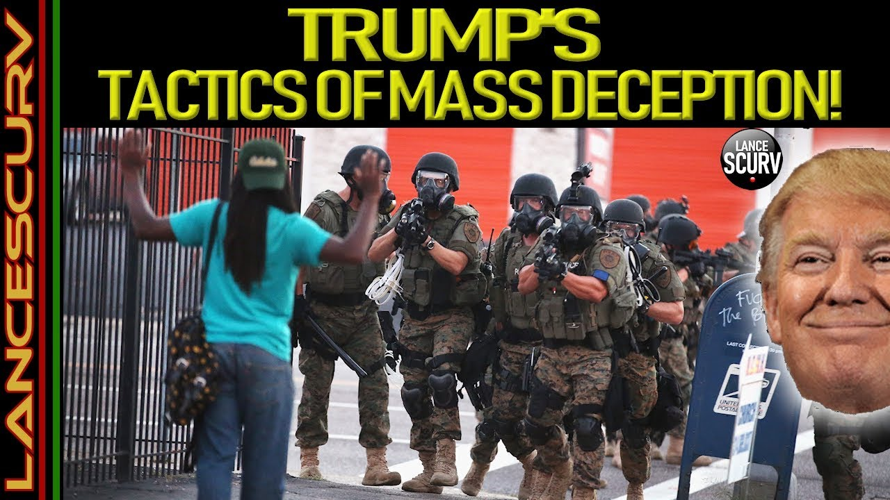 TRUMP'S TACTICS OF MASS DECEPTION! - The LanceScurv Show