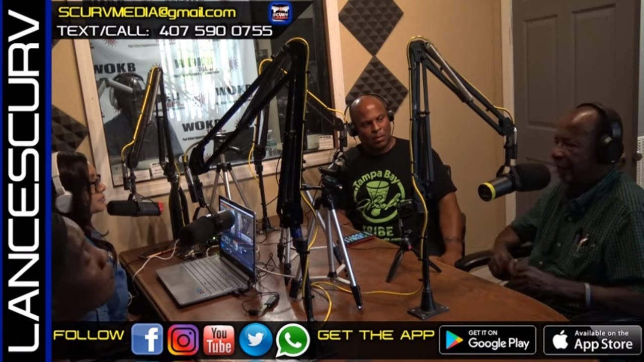 WHY IS THERE SO MUCH CRIME IN THE BLACK COMMUNITY? - WOKB RADIO/The LanceScurv Show