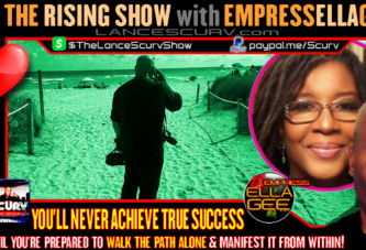 YOU'LL NEVER ACHIEVE TRUE SUCCESS UNTIL YOU'RE PREPARED TO WALK THE PATH ALONE!