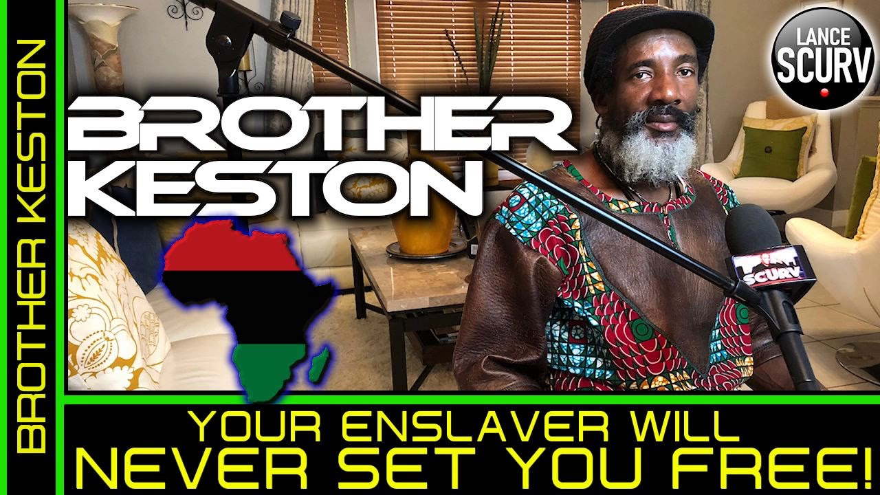 YOUR ENSLAVER WILL NEVER SET YOU FREE! - BROTHER KESTON