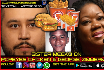 POPEYES CHICKEN STEREOTYPE & WHY IS GEORGE ZIMMERMAN STILL ALIVE TO SUE?
