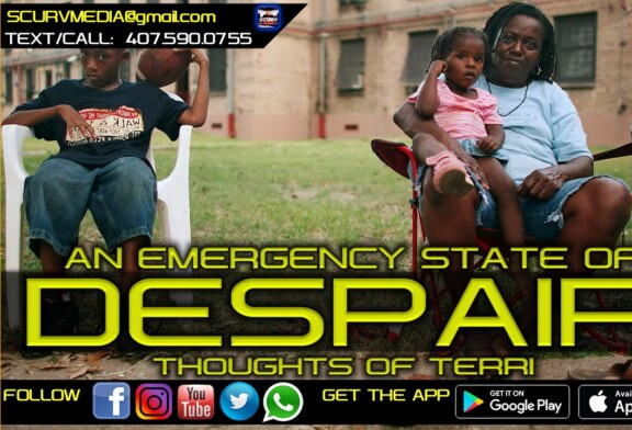 BLACK PEOPLE ALL OVER AMERICA ARE IN AN EMERGENCY STATE OF DESPAIR!