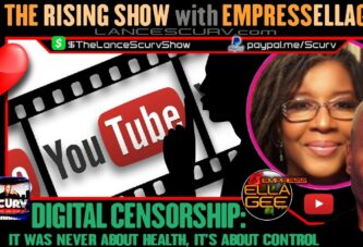 DIGITAL CENSORSHIP: IT WAS NEVER ABOUT HEALTH, IT'S ABOUT CONTROL!