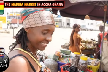 TAKING YOU WITH US FOR A QUICK RUN TO THE MADINA MARKET! - QUEEN LILYFIYAH