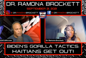 BIDEN'S GORILLA TACTICS: HAITIANS GET OUT!